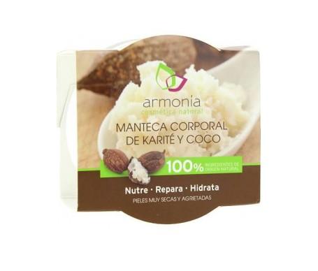 Armonia Crema Corporal Manteca Karite Y Coco 100ml