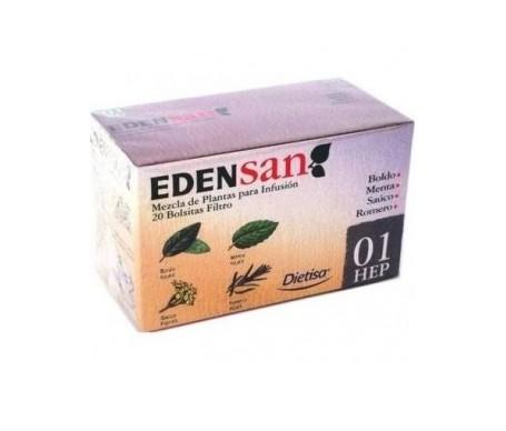 Edensan 01 Filtros Infusiones 20Uds