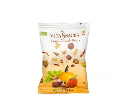 Vitasnack mix de hortalizas ecológicas crujientes 18g