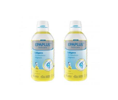 Epaplus Colágeno+ Ác. Hialurónico + Magnesio sabor limón 25 días 2x 1l