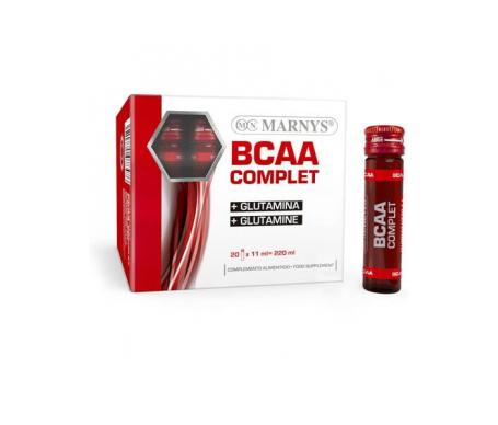 Marnys Bcaa Complet + Glutamina 20 Viales