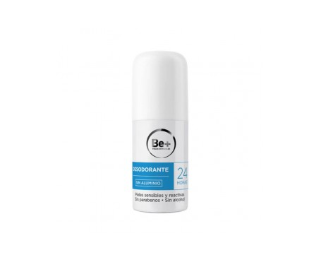 Be+ Desodorante Sin Aluminio 24h 50ml