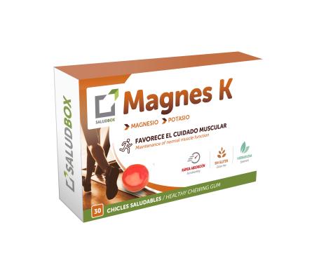 Saludbox Magnes K 30 Chicles funcionales