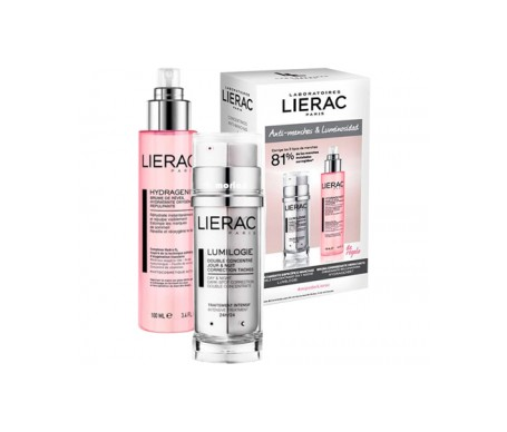 Lierac Pack Lumilogie 30ml + Hydragenist bruma 100ml de regalo