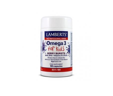 Lamberts Omega 3 For Kids 100cáps