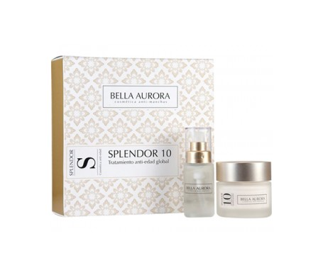 Bella Aurora Splendor 10 Global Antiage Treatment 50ml + Flash 30ml