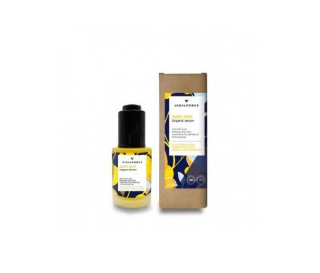 Vidalforce Anti DHT Trattamento naturale certificato per la caduta dei capelli 30ml