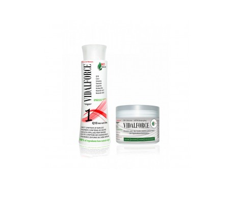 Vidalforce Pack Shampoo Perdita Capelli 1 250ml + Maschera 250ml
