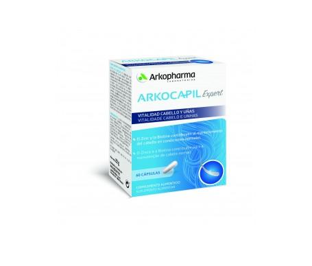 Arkocapil esperto capelli e unghie vitalità 60 tappi