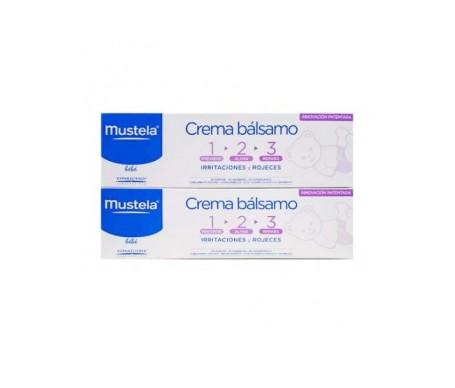 Mustela Pack crema bálsamo 1+2+3 2x50ml