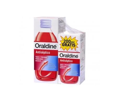 Bain de bouche antiseptique Oraldine 400ml + 200ml