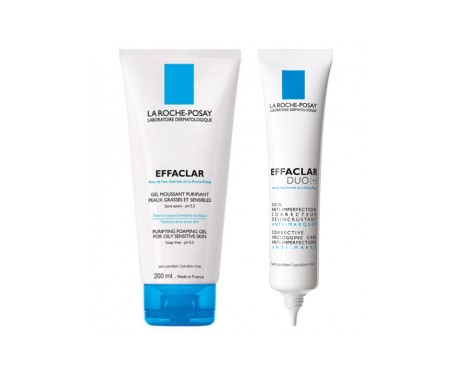 La Roche Posay Pack Crema Effaclar Duo+ 40ml + Gel 200ml