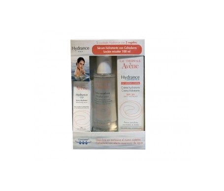 Avene Hydrance Optimale Ligera + Sérum Hidratante + Lotion Micelar