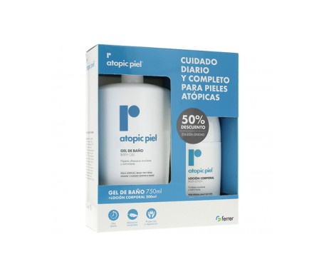 Repavar Pack Atopic piel gel de baño 750ml+200ml