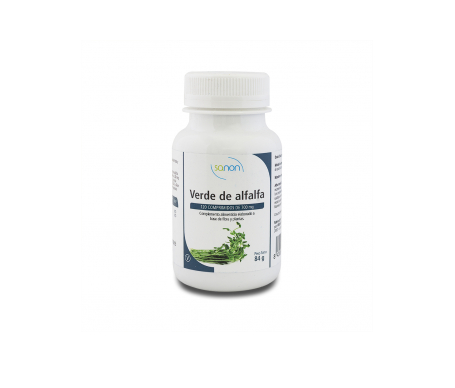 Sanon Verde De Alfalfa 700mg 120 Comp.