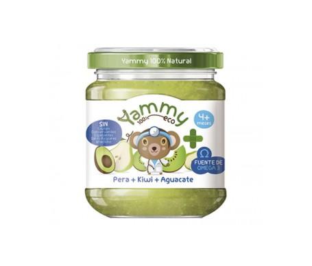 Yammy Farmacia Potito Eco - Pera Kiwi Aguacate+Omega3 195gr
