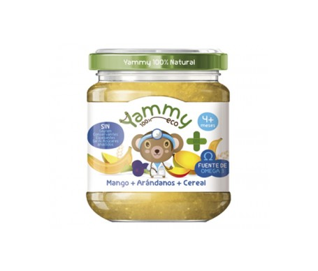 Yammy Farmacia Potito Eco - Mango Arándanos Cereal+Omega3 195gr
