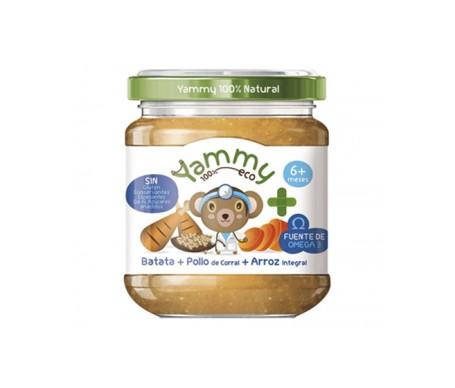 Yammy Farmacia Potito Eco - Batata Pollo de Corral Arroz Integral+Omega3 195gr
