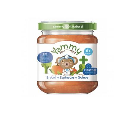 Yammy Farmacia Potito Eco -  Brócoli Espinacas Quinoa+Omega3 195gr