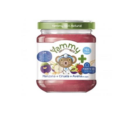 Yammy Farmacia Potito Eco - Manzana Ciruela Avena+Omega3 195gr