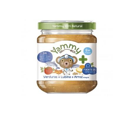 Yammy Farmacia Potito Eco - Verduras Lubina Arroz Integral+Omega3 195gr