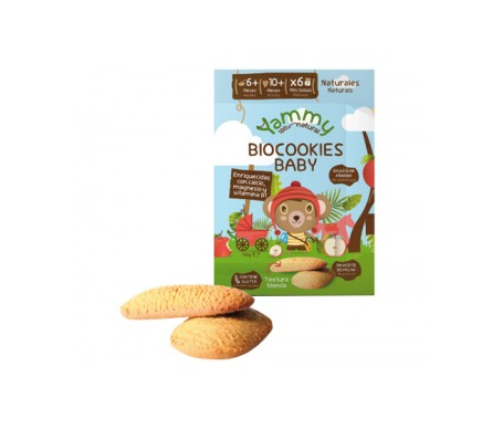 Yammy Biocookies Baby  - Galleta Bebé Ecológica sin azúcar 150gr