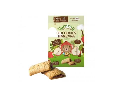 Yammy Biocookies Manzana - Galleta Ecológica sin azúcar con espelta y rellena de manzana 150gr