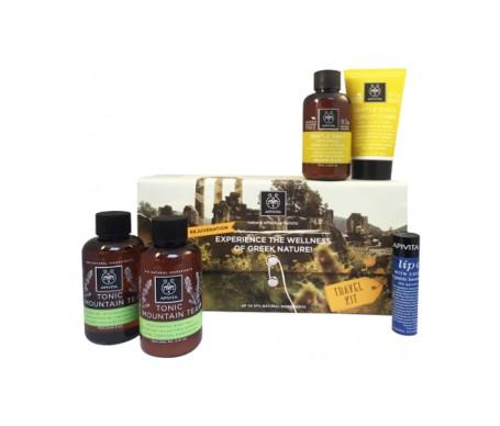 Apivita travel kit for rejuvenation