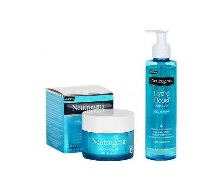 Neutrogena® Hydro Boost® gel de agua 50ml + limpiador gel de agua 200ml
