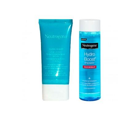 Neutrogena®  Hydro Boost®  Urban Protect 50ml + Limpiador Agua Micelar 200ml