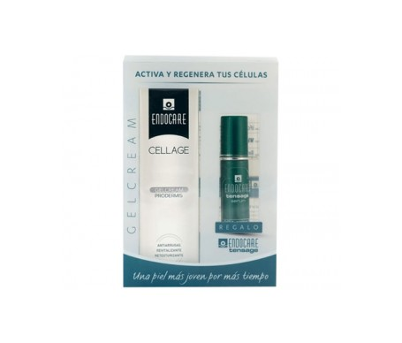 Endocare pack Cellage Gelcream 50ml + Tensage Sérum 15ml