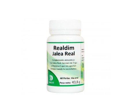 Dimefar Realdim Jalea Real 60Cáps