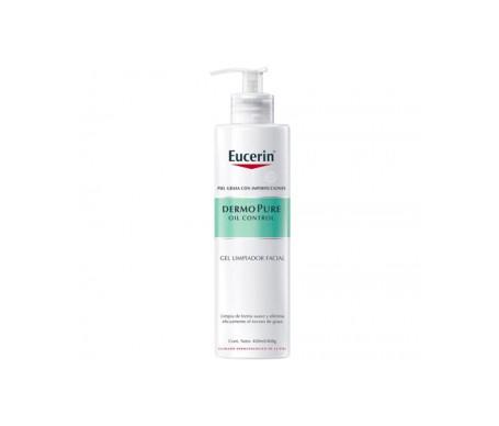 Eucerin Dermopure Oil Control Gel Gesichtsreiniger 200ml