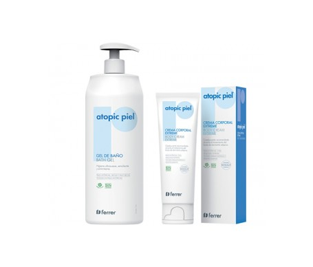 Atopic Piel Pack Gel Baño 750ml + Crema Corporal Extreme 50ml
