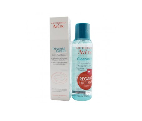 Avene Triacneal Expert 30ml + Cleanance Agua Micelar 100ml