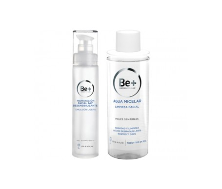 Be+ Pack Emulsión Ligera Piel Normal 50ml + Agua Micelar 200ml