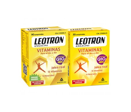Leotron vitaminas 90 comp + 30 comp