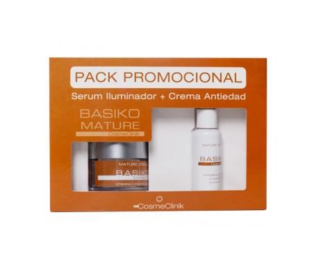 Basiko Pack siero maturo ringiovanente 30ml + crema 50ml