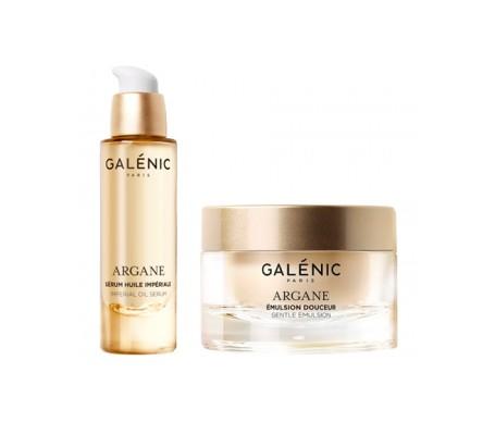 Galenic Argane Emulsion Box 50ml + Magnificent Oil Serum 10ml