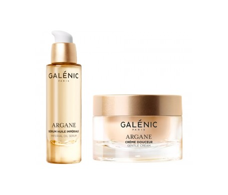 Galenic Argane Cream Box 50ml + Magnificent Oil Serum 10ml