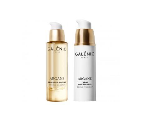 Galénic Argane Crema Ojos 15ml + Sérum Aceite Magnífico 10ml