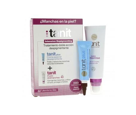 Tanit Crema Despigmentante 15ml+Fluido Antimanchas SPF40 50ml