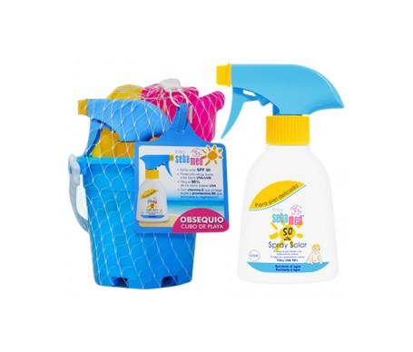 Sebamed Baby Spray Solar SPF50 + Cubo Playa De Regalo