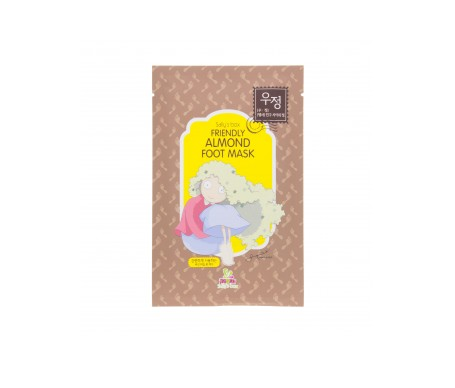 Sally's Box Friendly Almond Foot Mask 16g
