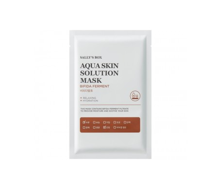Sally's Box Aqua Skin Solution Mask Bifida Ferment 22ml