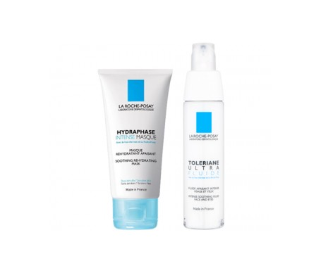 La Roche Posay Pack Toleriane Ultra Fluido 40ml + Hydraphase Intense Mascarilla 50ml