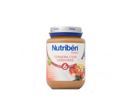 Nutribén™ Potito™ ham and beef with vegetables 250g