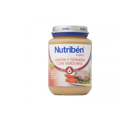 Nutribén™ Potito™ham and beef with vegetables 200g