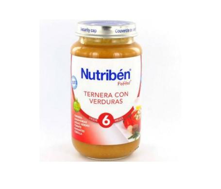 Nutribén® Potito® ternera y verduras 250g