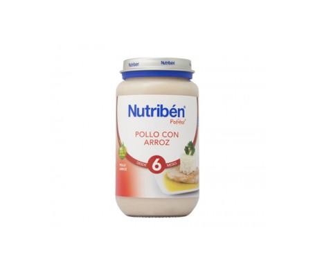 Nutribén® Potito® pollo con arroz 250g